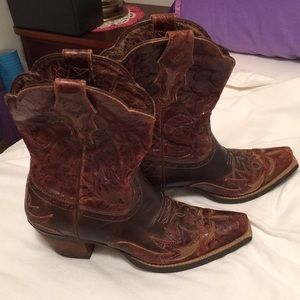 "Ariat cow""girl"" boots sz 6"